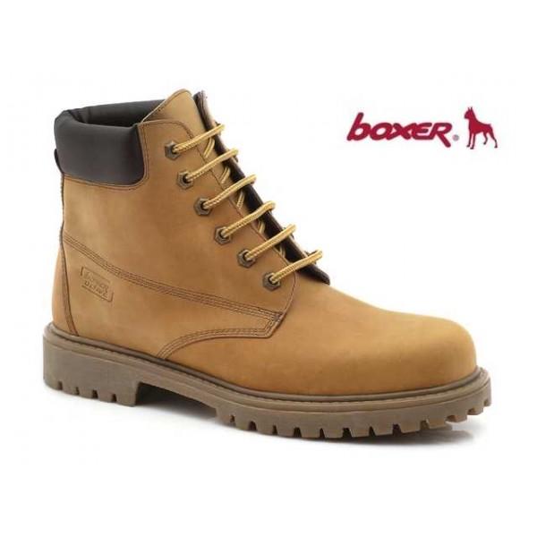 Boxer 03204 30-015 Κίτρινα ανδρικά μποτάκια