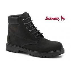 Boxer 03204 34-011 Μαύρα ορειβατικά μποτάκια