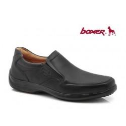 Ανδρικά Παπούτσια Boxer 16115 14-111 Μαύρα Casual Μοκασίνια