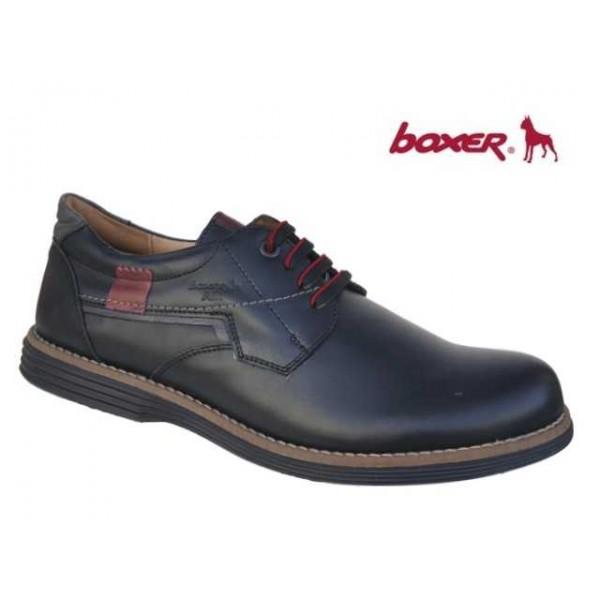 Boxer 41049 10-011 Μαύρο δέρμα