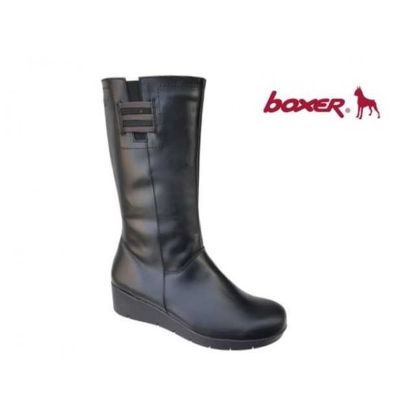 Boxer 52741 10-111 Μαύρο, Γυναικείες μπότες