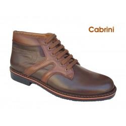 Cabrini K15 Καφέ Ανδρικά Μποτάκια