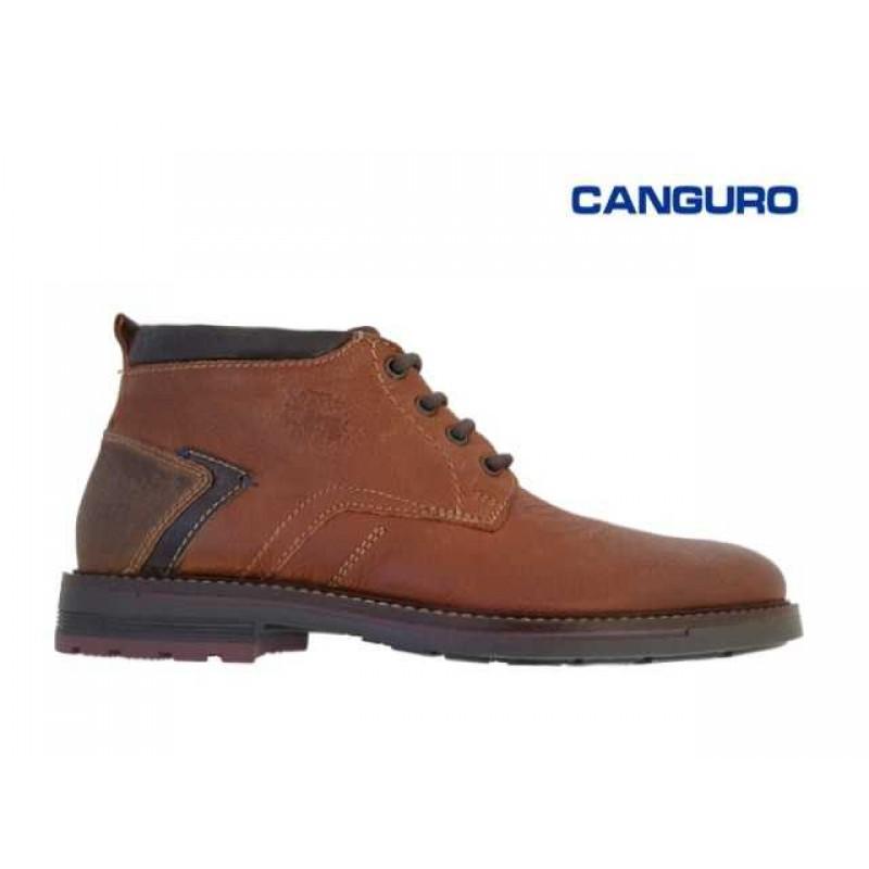 9df19fbb7de ... Ανδρικά Παπούτσια Canguro 162300 Ταμπά Casual Δερμάτινα Μποτάκια ...