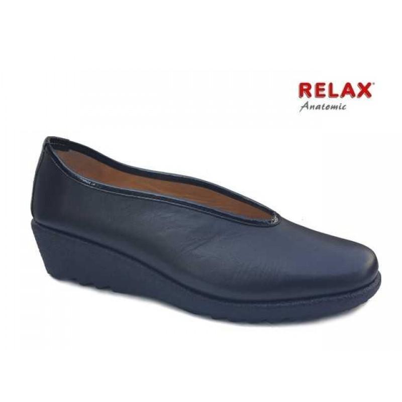 Relax anatomic 7105-13 Μαύρο Δέρμα a873a984507