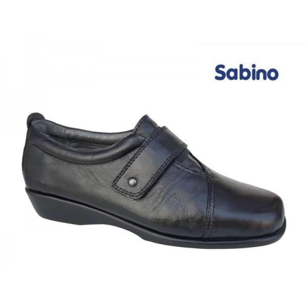 Sabino SB1022  Μαύρο δέρμα