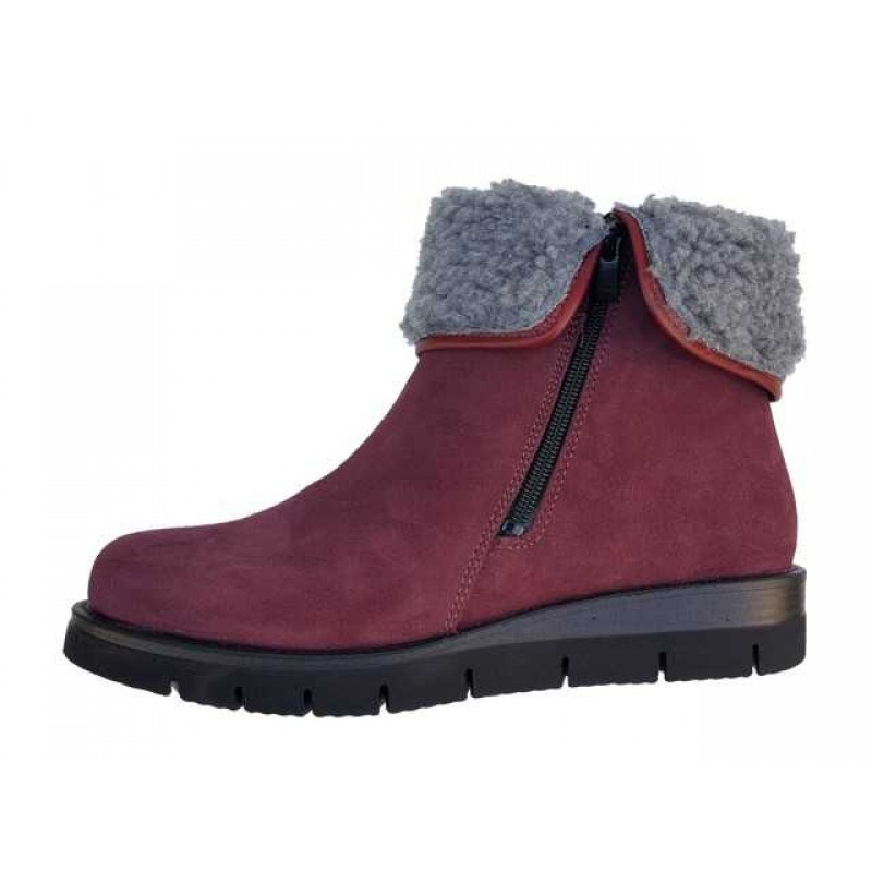 ... Γυναικεία Παπούτσια SOFTIES 7922 Μπορντό Καστόρινα Γυναικεία Μποτάκια 13806a6efd2