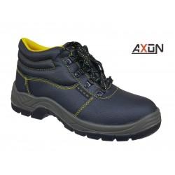 Axon S3 312085 Μαύρα Ανδρικά Μποτάκια Ασφαλείας