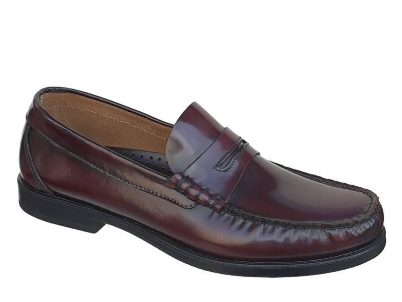 Ανδρικά Κολεγιακά Παπούτσια   Gallen 300 Μπορντό   College Μοκασίνια