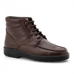 Boxer shoes air  01533 18-114 Καφέ | Ανδρικά Δερμάτινα Μποτάκια
