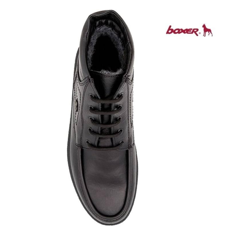 ... Ανδρικά Παπούτσια Boxer 01533 18-111 Μαύρα Δερμάτινα Ημίμποτα Δερμάτινα 3a8d206f806