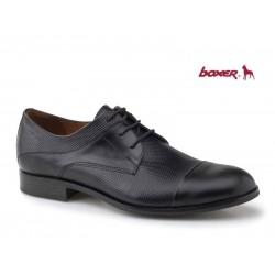 Ανδρικά Παπούτσια Boxer 41060 10-811 Μαύρα Αμπιγέ Δερμάτινα Σκαρπίνια