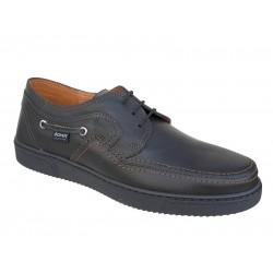 Ανδρικά Παπούτσια BOXER 41064 11-111 Μαύρα Spor Δερμάτινα Σκαρπίνια