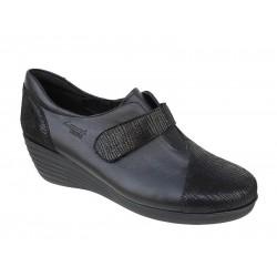 Γυναικεία Παπούτσια Boxer 52832 50-411 Μαύρα Δερμάτινα Μοκασίνια