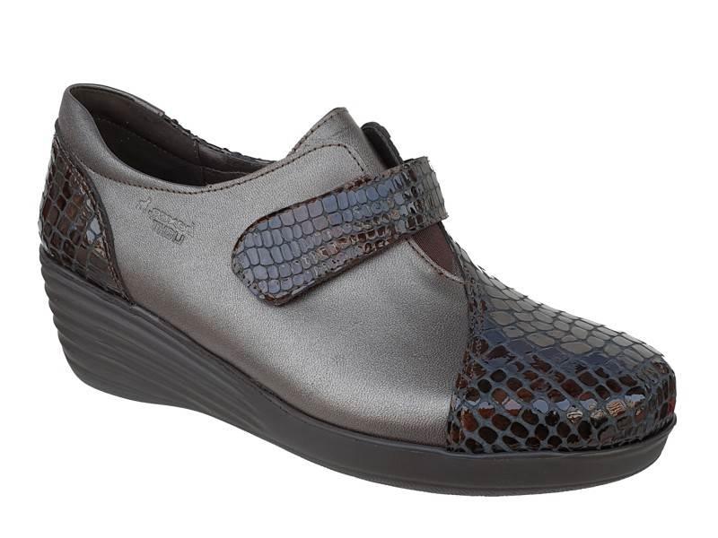 Γυναικεία παπούτσια Boxer 52832 50-463 Μπρονζέ  Δερμάτινα Μοκασίνια