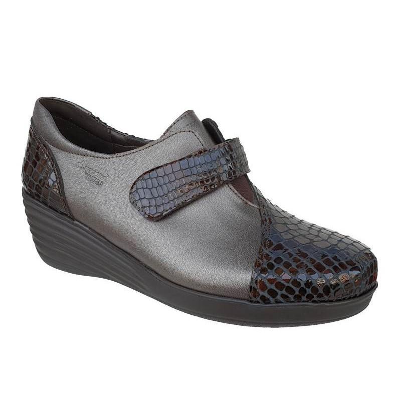 aa12dabc4b0 -25% Γυναικεία παπούτσια Boxer 52832 50-463 Μπρονζέ Δερμάτινα Μοκασίνια