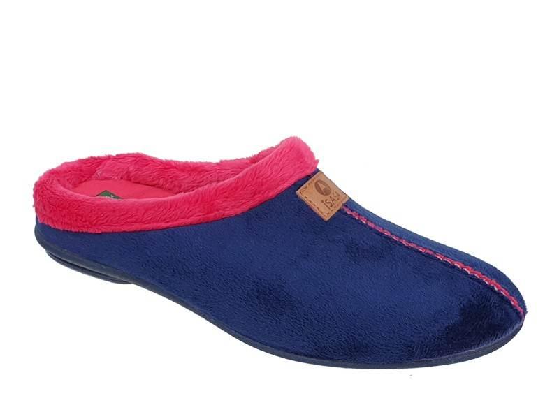 Γυναικείες Παντόφλες - Χειμερινές - Isasa 5106066 Μπλε