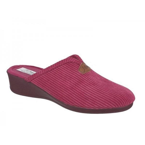 Γυναικεία Παπούτσια Ortega 1805 Μπορντό Χειμερινές Παντόφλες