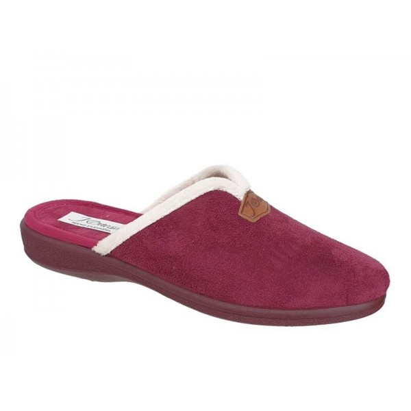 Γυναικεία Παπούτσια Ortega 1808b Μπορντό Χειμερινές Παντόφλες