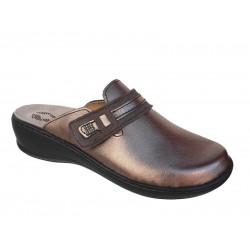 Γυναικεία Παπούτσια FILD Anatomico Brigita - 03 Ατσαλί Παντόφλες - Σαμπό