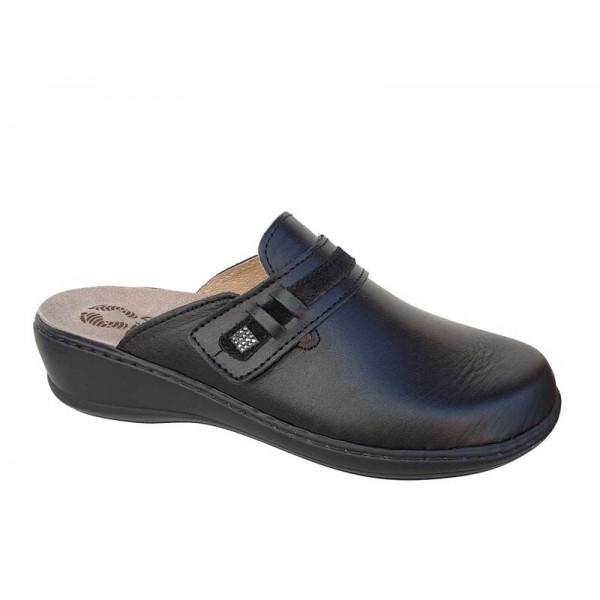 Γυναικεία Παπούτσια FILD Anatomico Brigita - 03 Μαύρο Παντόφλες - Σαμπό