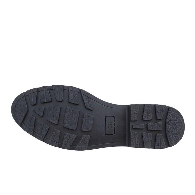 ... Δερμάτινα Παπούτσια INBLU HE13C143 Μπεζ Γυναικεία Μποτάκια dca9edf8bab