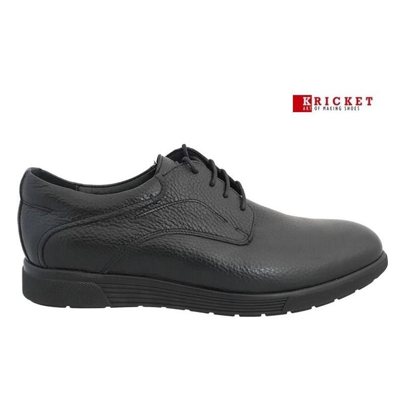 ... Ανδρικά Παπούτσια Kricket 4000 Μαύρα Δερμάτινα Σκαρπίνια. c71585343fa