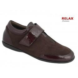 Δερμάτινα Παπούτσια Relax anatomic 8307-32 Καφέ Καστόρι Γυναικεία Μοκασίνια