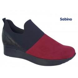 Sabino 26318 Μαύρο - Κόκκινο