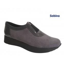 Παπούτσια Sabino 26319 Γκρι Spor Γυναικεία Μοκασίνια