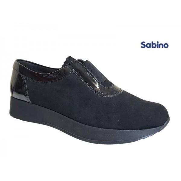 Παπούτσια Sabino 26319 Μαύρα Spor Γυναικεία Μοκασίνια