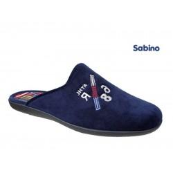 Δερμάτινα  παπούτσια Sabino L294724 Μπλε Ανδρικές Παντόφλες
