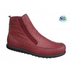 Γυναικεία Παπούτσια SAFE STEP 5509 Μπορντό Γυναικεία Μποτάκια