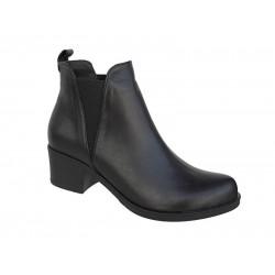 Γυναικεία παπούτσια Safe Step 6037 Μαύρα μποτάκια