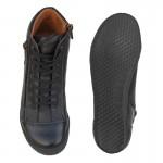 Γυναικεία Παπούτσια SAFE STEP 72160 Μαύρα Spor Δερμάτινα Μποτάκια