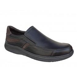 Ανδρικά Παπούτσια SOFTIES 5567 Μαύρα Μοκασίνια