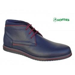 SOFTIES 6922 Μπλε δέρμα
