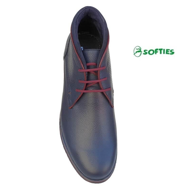 945aa09b7d2 Ανδρικά Παπούτσια SOFTIES 6922 Μπλε Μποτάκια Κορδόνια Ανδρικά Παπούτσια  SOFTIES 6922 Μπλε Μποτάκια Κορδόνια ...