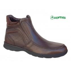 Ανδρικά Παπούτσια SOFTIES 6930 Καφέ Σπορ Μποτάκια
