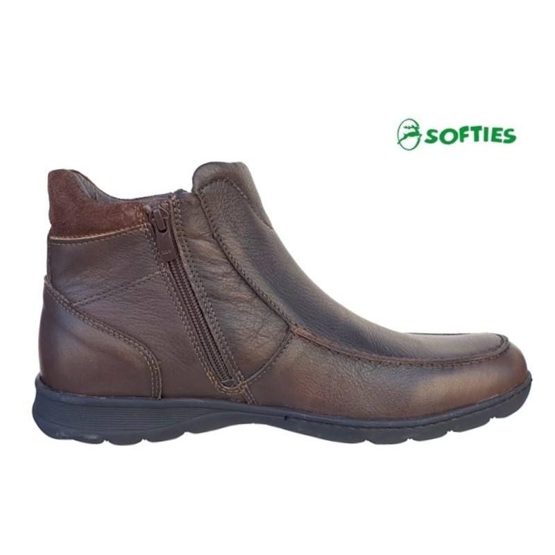 Ανδρικά Παπούτσια SOFTIES 6930 Καφέ Σπορ Μποτάκια Ανδρικά Παπούτσια SOFTIES  6930 Καφέ Σπορ Μποτάκια ... 2c70702eceb