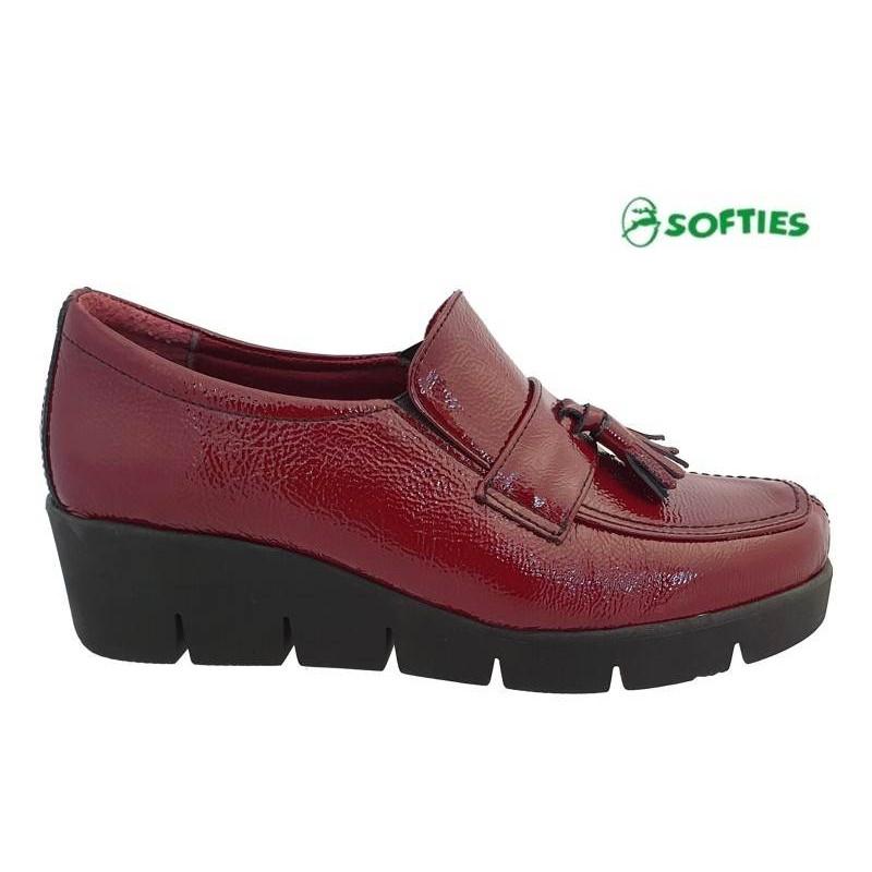... Casual Γυναικεία Παπούτσια SOFTIES 7103 Μπορντό Σπορ Μοκασίνια ... f9610118a2a