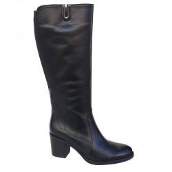 SOFTIES 7105 Μαύρες Γυναικείες Μπότες