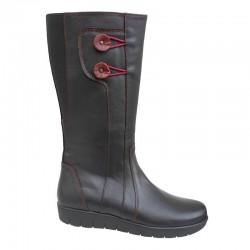 SOFTIES 7983 Μαύρες Γυναικείες Μπότες